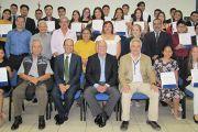 Insaforp entrega de becas a jóvenes para que realicen sus estudios en la Escuela Agrícola Panamericana, El Zamorano