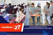 ¡FELICIDADES EN EL DÍA DE LA FORMACIÓN PROFESIONAL: 2 DE JUNIO!